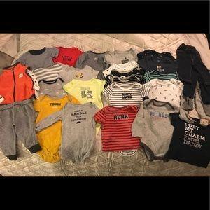 Boys' bundle of Carter's clothes
